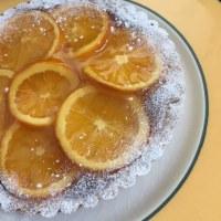 オレンジタルトとオレンジアーモンドケーキ