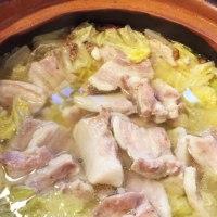 2016年10月27日    白菜と塩豚の花椒鍋