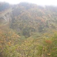 秋の紅葉 称名滝