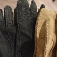 皮手袋水洗い後と寝具類の洗濯