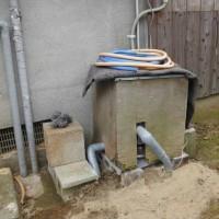急いで、井戸ポンプを取替