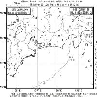 今週のまとめ - 『東海地域の週間地震活動概況(No.2)』など
