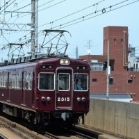 阪急 上新庄(2014.5.24) 2315F 普通 梅田行き