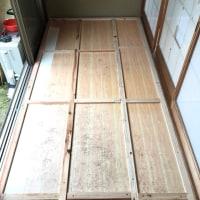和室板の間の断熱化