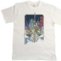 今頃なんだけど,「船橋Tシャツコンペ」こっそり入選してます。