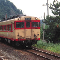 国鉄王国山陰へ 晩夏の余部橋梁にて 1995-08-27