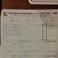 マスターズ初日(岸川)