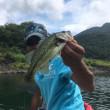 2017/7/22  精進湖 ボートバス釣り(釣果編)