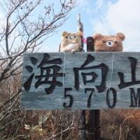 海向山登山 2016/11/15