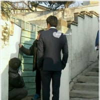 クォン・サンウ スエ ユノ主演『野王』~現場のサンウ~後姿もいいね💛