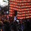 【久喜の提燈祭り】夜の部