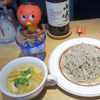 オサレな店内にて「カレー十割つけ蕎麦」ランチ!@根津の「十割つけ蕎麦ムラマサ」!