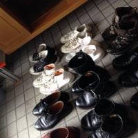 「靴箱掃除」
