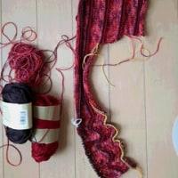 【毛糸だま173号】スキーアデッサの横編みプルオーバー編みはじめ