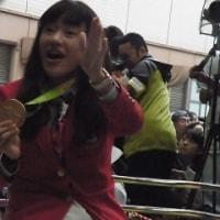 リオ五輪・金メダル凱旋パレード@富山県高岡市中心街
