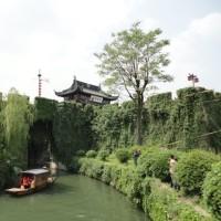 蘇州 お散歩 環古城河健身歩道(人民橋~新市橋)