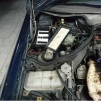 W124向ブレードヒューズ化Kit試作。。。