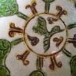 氏素性の解らぬ作品 三彩飛雁文盤 & 天目台と木の葉天目