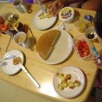 日曜日の朝ご飯
