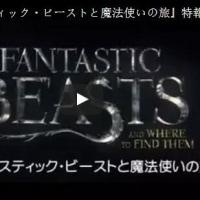 大ヒット中映画ファンタスティック・ビーストと魔法使いの旅無料ダウンロード保存方法をご紹介