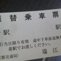 新宿線瑞江 20170423  朝