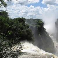 世界遺産(南アフリカ・ビクトリアの滝)を見る!