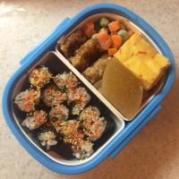 【親父厨房に入る】玉子豆腐ではなく豆腐玉子弁当