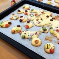 初めてのクッキー作り。