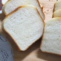 白神こだま酵母でミルク食パン