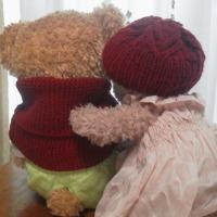 ◆MissMarple Scarf & Antler Hat