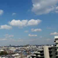 既に昨日の空