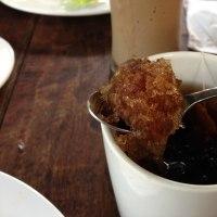 Kembang Semankokの実が入った紅茶は熱を冷ます効能あり