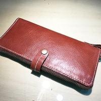 生徒さんの作品/ラウンドファスナー財布