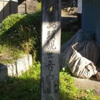 群馬県東吾妻村、沢尻馬頭観世音の大銀杏です!!