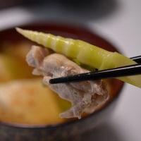 竹の子には、鶏肉がいいですね・・・
