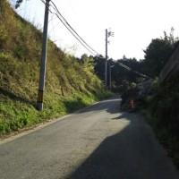 震災後初、俵山越えて南阿蘇へ