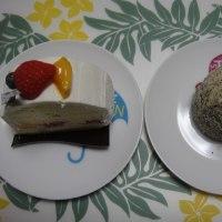 モンタージュのケーキ