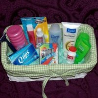 What are toiletries?