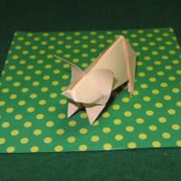折紙のブタ