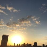 10/24の朝の空
