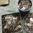 ためていた小銭が40,000円以上になった