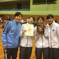 女子フルーレ 第67回全日本学生フェンシング王座決定戦