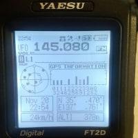 FT-2D GPSロガー使用時のバッテリー消費量