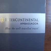 Inter continental Ambassador card