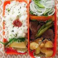 牛肉とアスパラ炒め弁当