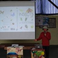 5月11日(木) 探検昆虫学者の西田賢司先生の講話