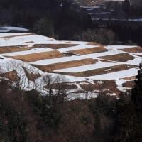 雪解けの山里