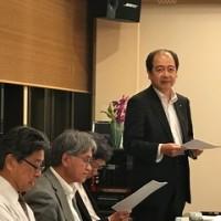 昨日の21世紀塾は、静岡新聞・静岡放送の海野東部総局長を講師に迎え・・・・・
