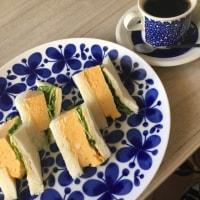 厚焼きたまごのサンドイッチ