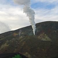 一切経山の火山活動について